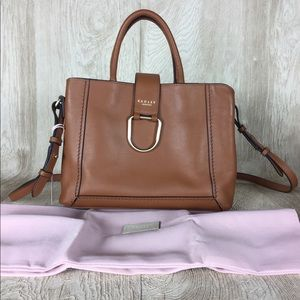 NWT Radley London Primrose Hill Leather Satchel
